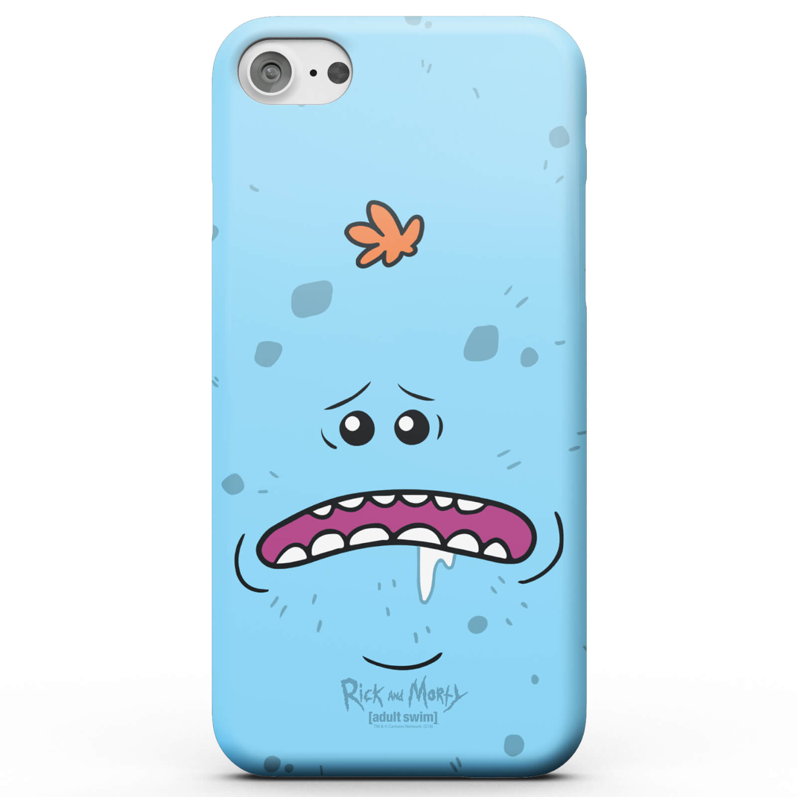 Funda Móvil Rick y Morty Mr Meeseeks para iPhone y Android - iPhone 7 Plus - Carcasa rígida - Mate de Rick and Morty