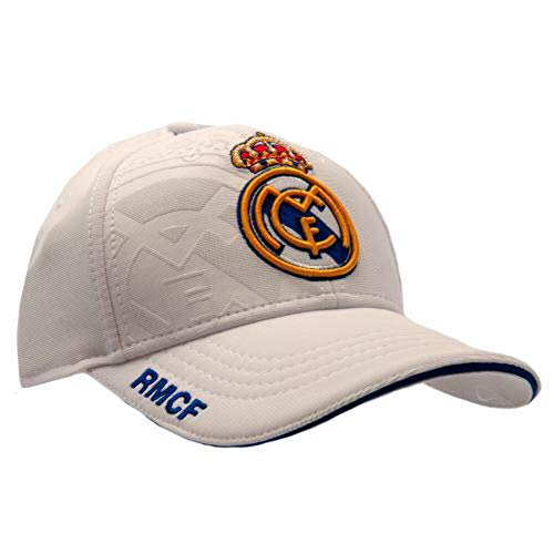 GORRA REAL MADRID PRODUCTO OFICIAL- BLANCA 2017-2018 ADULTOS de Producto Oficial Licenciado por el Real Madrid