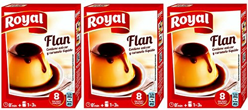 Royal Preparado para Flan 186 gr. - [Pack 3] de Royal