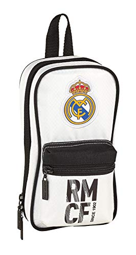 Real Madrid 411854847 2018 Neceser, 23 cm, Blanco de Real Madrid