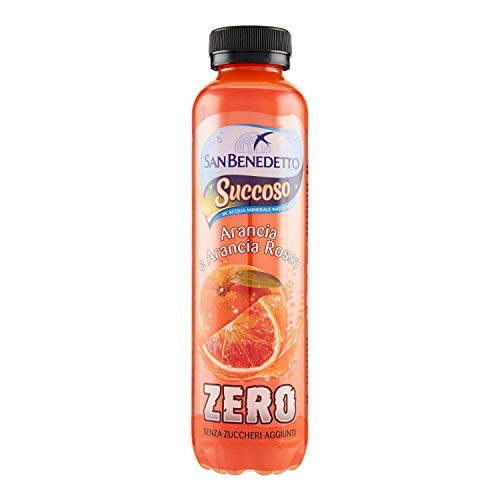 12x San Benedetto Succoso Zero Mixed Fruit Juice Drink Beverage 40cl Sugar Free! de San Benedetto