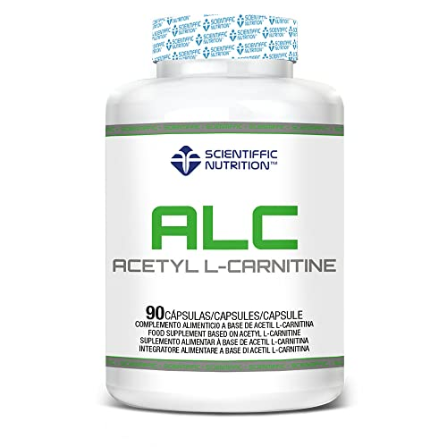 Acetyl L-carnitine 500 Mg 90 Caps - Scientiffic Nutrition de Scientiffic Nutrition