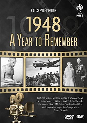 British Pathé News - A Year to Remember 1948 - 70th Anniversary Birthday Gift [DVD] [Reino Unido] de Simply Media