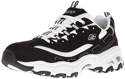 Skechers D'Lites Men's Black & White 52675BKW, Deportivas - 41 EU de Skechers