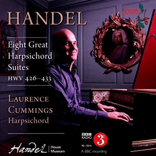Eight Great Suites for Solo Harpsichord de Somm