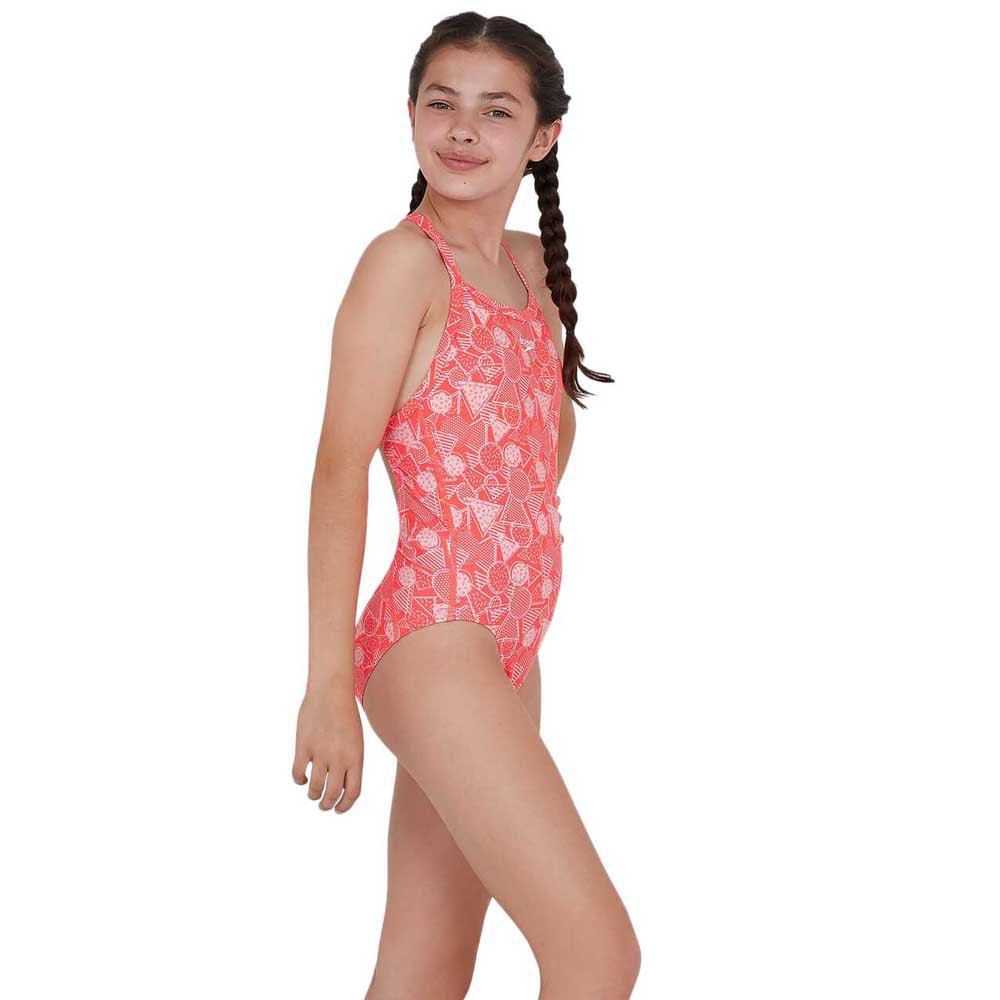 Trajes de baño Dazzlegeo Allover X-back de Speedo