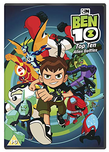 Ben 10: Top Ten Alien Battles [DVD] [Reino Unido] de Spirit Entertainment