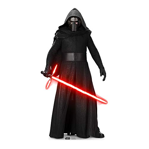 Kylo Ren (SW: TFA) LifeSize cartón Cut out de StarCutouts