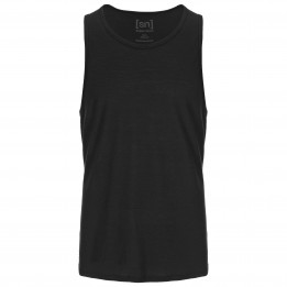 super.natural - Base Tank 140 - Ropa interior merino size L, negro de super.natural
