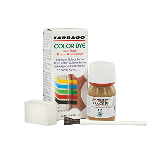 Tarrago Color Dye 25ml, Zapatos y Bolsos Unisex Adulto, Marrón (Mink 42), 20 ML