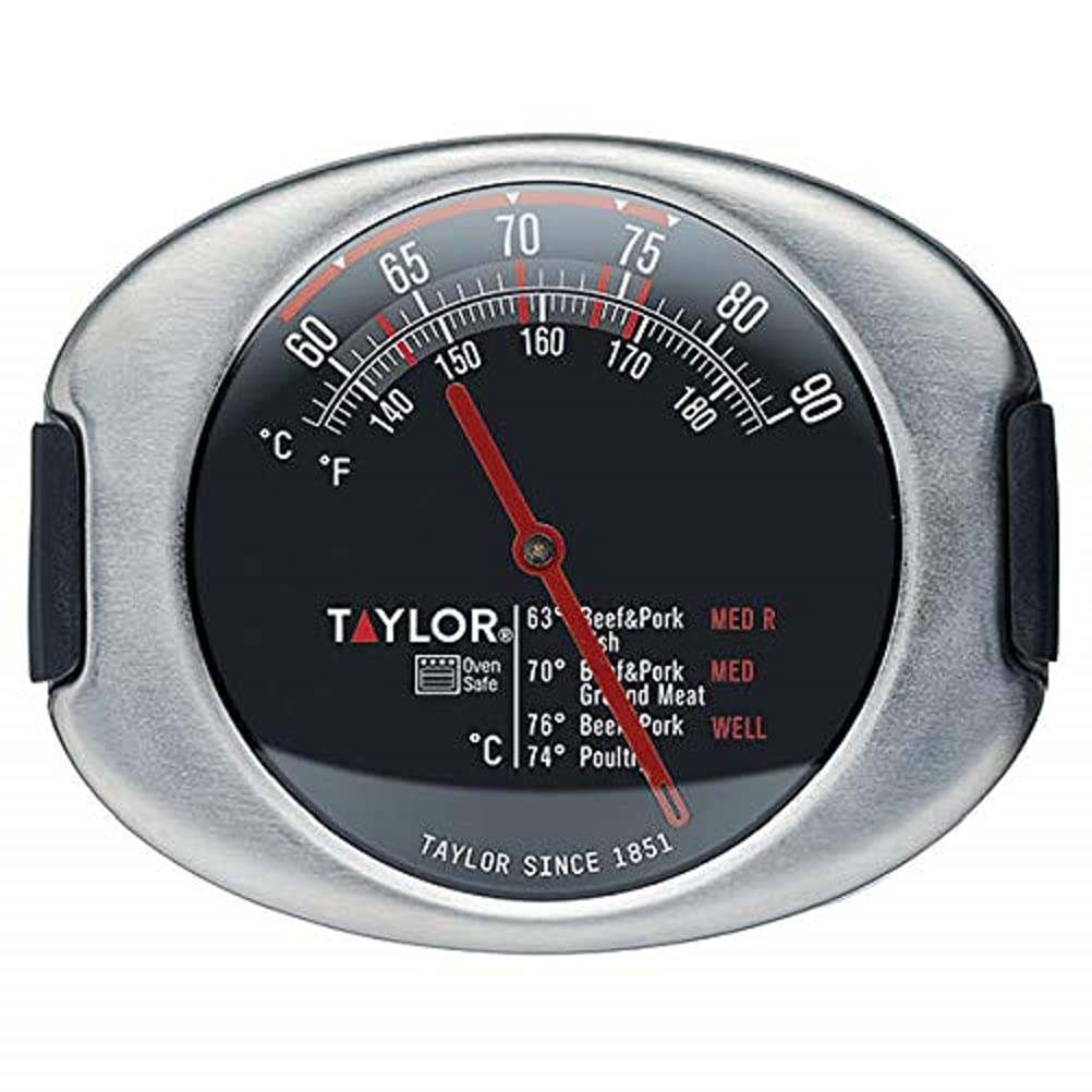 Taylor Pro Leave In Meat Thermometer Probe, Stainless Steel de Taylor