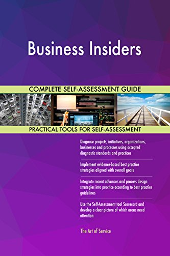 Business Insiders All-Inclusive Self-Assessment - More than 720 Success Criteria, Instant Visual Insights, Comprehensive Spreadsheet Dashboard, Auto-Prioritized for Quick Results de The Art of Service