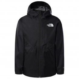 The North Face - Boy`s Zipline Rain Jacket - Chaqueta impermeable size S, negro de The North Face