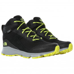 The North Face - Kid`s Junior Hedgehog Hiker II Mid WP - Botas de trekking size 6, negro de The North Face
