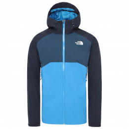 The North Face - Stratos Jacket - Chaqueta impermeable size L, azul/negro de The North Face