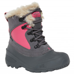 The North Face - Youth Shellista Extreme - Botas invierno size 12K, negro/gris de The North Face