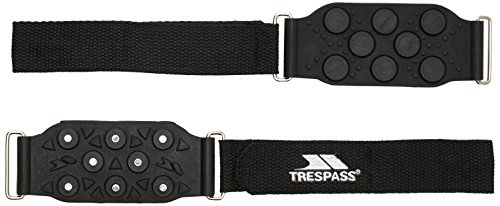 Trespass Clawz Ice Grippers – Negro de Trespass