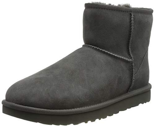 UGG Female Classic Mini II Classic Boot, Grey, 8 (UK) de UGG