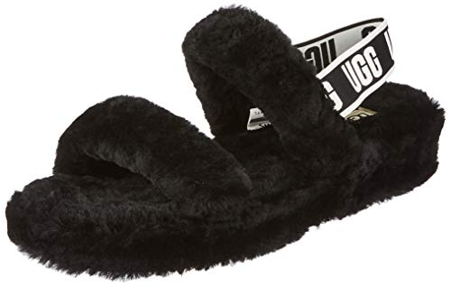 UGG Female Oh Yeah Slipper, Black, 8 (UK) de UGG