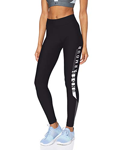 Under Armour HG Graphic Legging, Mujer, Negro, XS de Under Armour