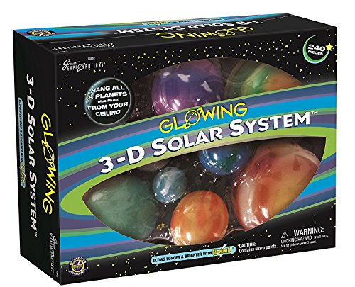University Games A1002155 - Sistema solar en 3D luminiscente de University Games