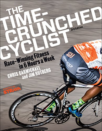Time-Crunched Cyclist: Race-Winning Fitness in 6 Hours a Week, 3rd Ed. (The Time-Crunched Athlete) de VeloPress