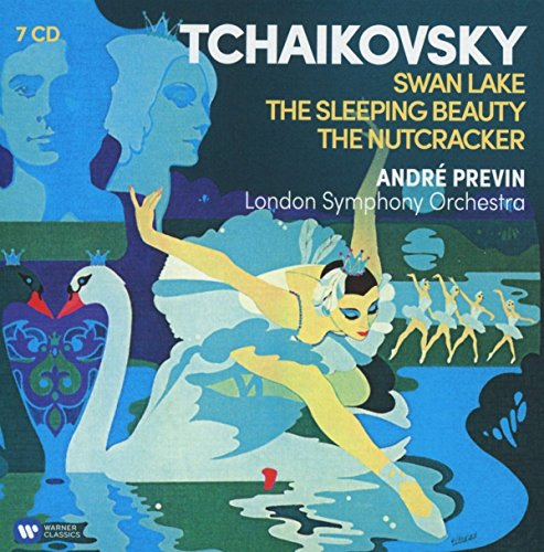 Tchaikovsky: 3 Ballets (Swan Lake, Nutcracker, Sleeping Beauty) de WARNER CLASSICS, BOX CLASSICA, BALLETTO, OPERA,