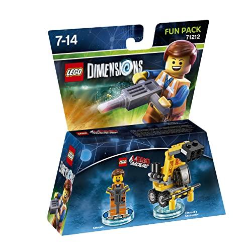 Warner Bros Interactive Spain (VG) Lego Dimensions - Figura Emmet de Warner Bros Interactive Spain (VG)