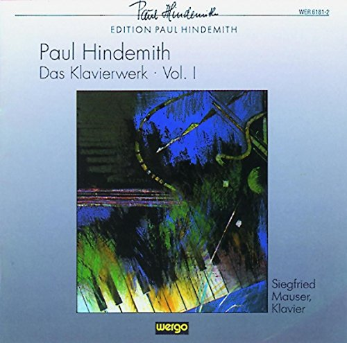 Hindemith : uvres pour piano I de Wergo World