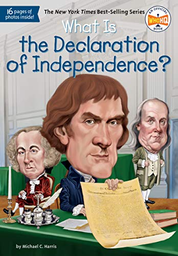 Harris, M: What Is the Declaration of Independence? (Who HQ) de Penguin Young Readers Group