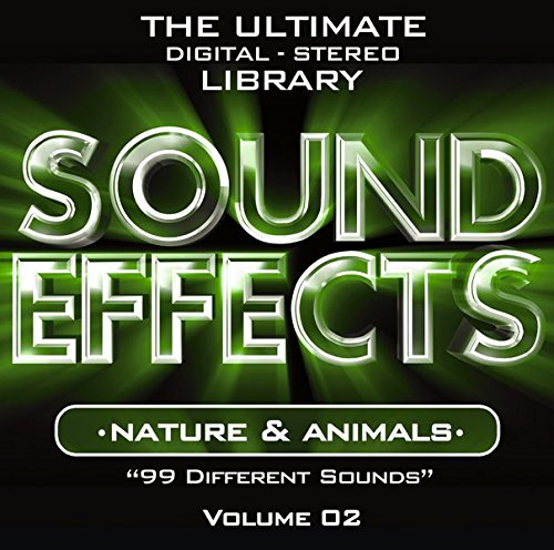 Sound Effects Vol. 2 - Nature and Animals de Zyx