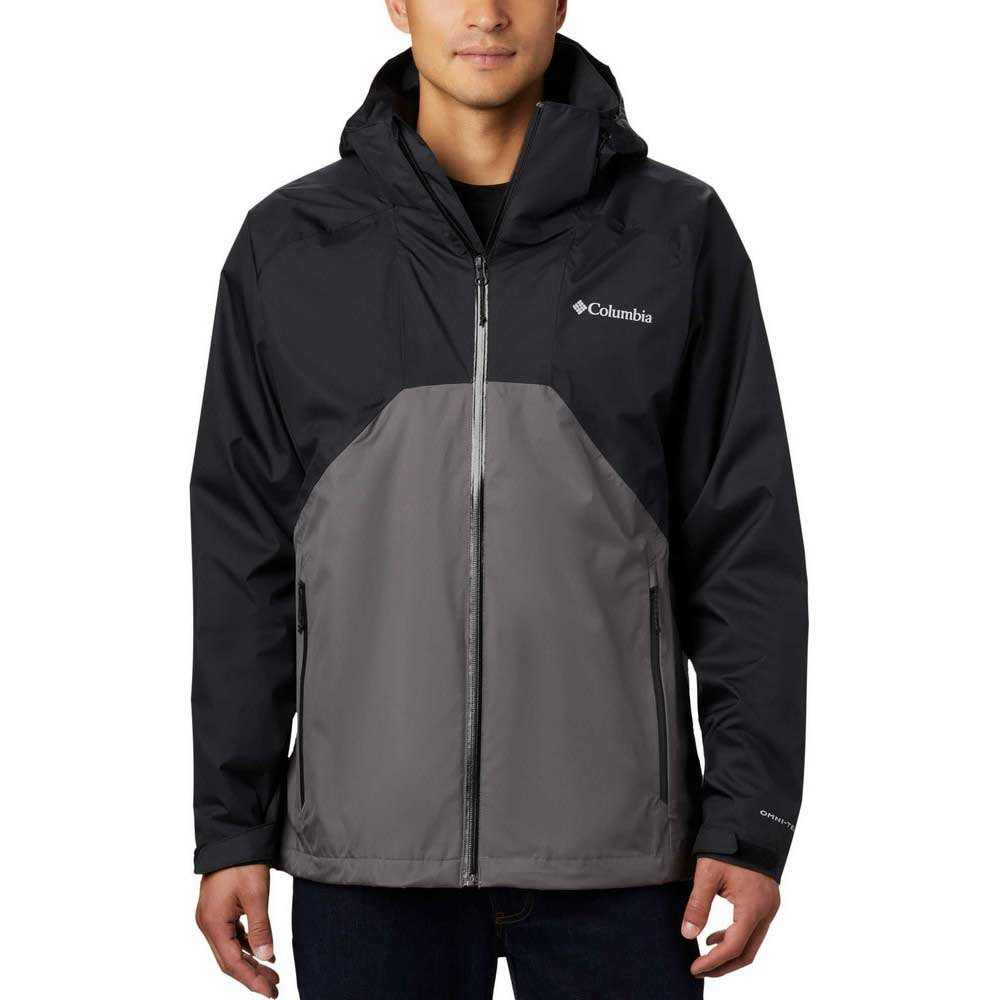 Columbia Rain Scape L Black / City Grey de Columbia