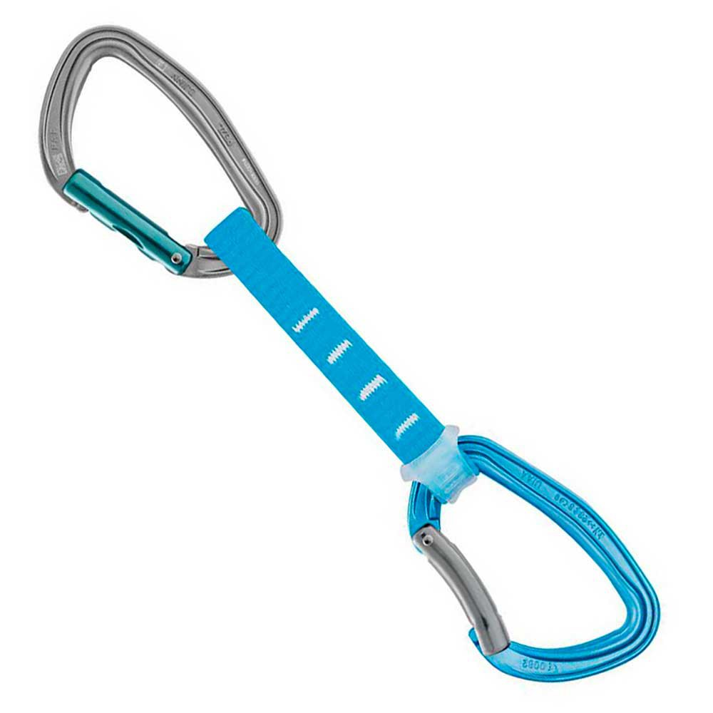 Petzl Pack Of 6 Djinn Axess 12 cm Blue de Petzl