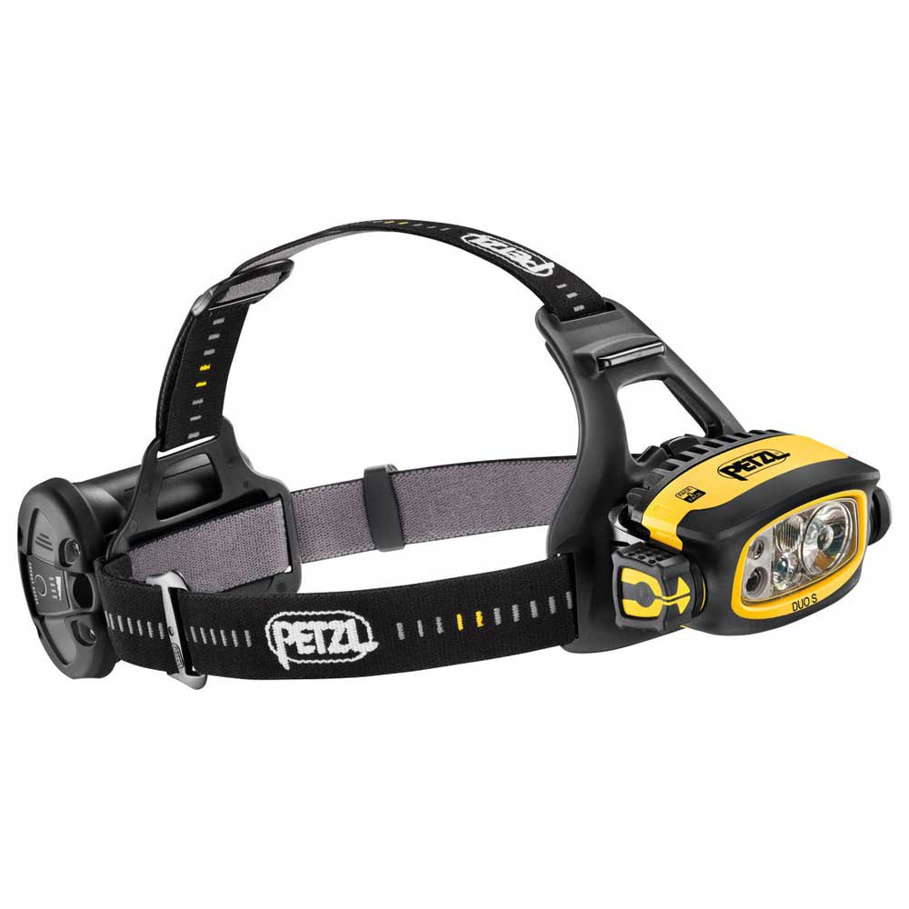 Petzl Duo S 1100 Lumens Black / Yellow de Petzl
