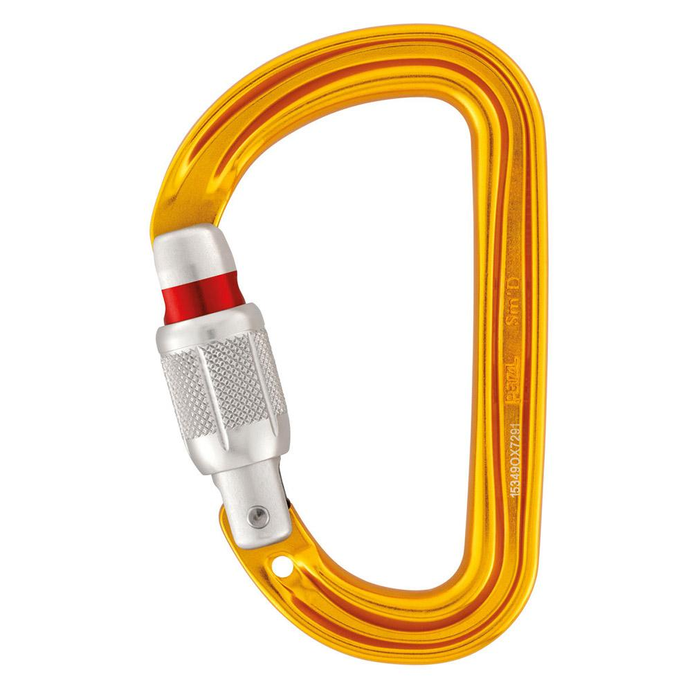 Petzl Smd Screw Lock One Size Yellow de Petzl