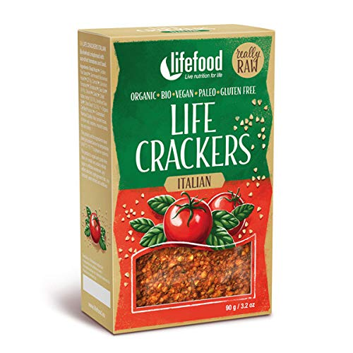 Lifefood Org Italian Crispbread 100 g (order 8 for trade outer)
