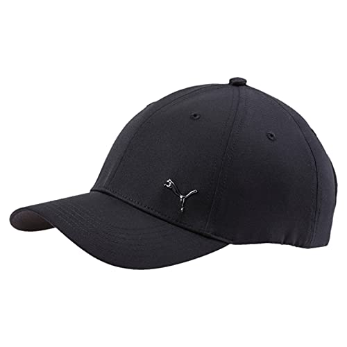 Puma – Gorra Metal Cat, Unisex Adulto, 21269, Puma Black, Adulto de Puma