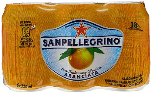 San Pellegrino Orange 33cl (pack de 6)