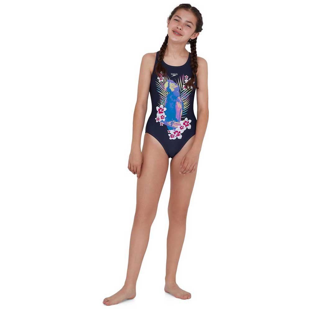 Trajes de baño Jungleglow Digital Placement Leaderback de Speedo