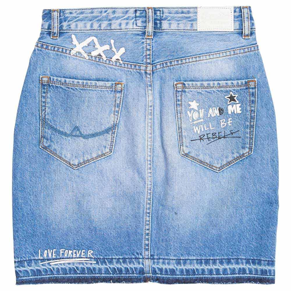 Superdry Denim Mini S Acid Blue de Superdry