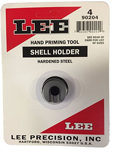 Lee Precision 90204 Shell Holder Auto Prime Nº4, Talla Única de Lee Precision