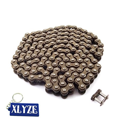 XLYZE 25H 146 Cadena de enlaces con Spare Master Link para 43cc 47cc 49 cc Mini Moto Dirt ATV Quad Pocket Bike de XLYZE